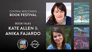 video thumbnail: Book Talks with Kate Allen and Anika Fajardo