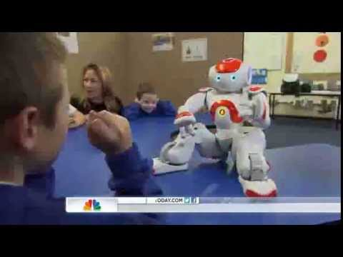 Robots teach communication to kids with autism