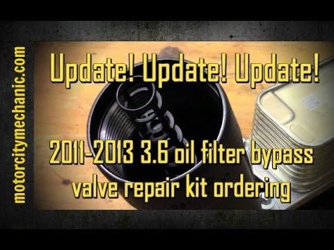 Oil Filter Bypass Valve Fits 12-13 Ram 11-13 Jeep 11-13 Chrylser 11-13 Dodge