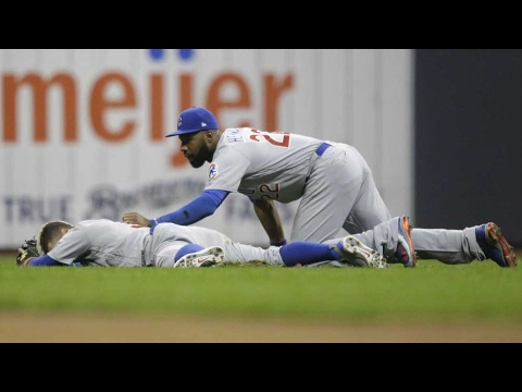 Javier Baez Injures Eye After Jason Heyward Collision Means World Series Win Again
