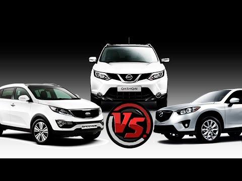 2hp: Mazda CX 5 Vs Nissan Qashqai Vs KIA Sportage