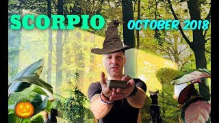Video SCORPIO October 2018 - OMEN BUTTERFLY   Love & SPIRIT - Scorpio Horoscope Tarot download MP3, 3GP, MP4, WEBM, AVI, FLV September 2018