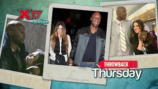 X17 Throwback Thursday: Khloe And Lamar In Happier Times