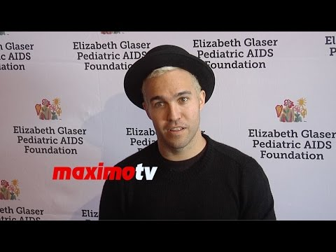 Pete Wentz | 2014 A Time for Heroes | Red Carpet | Fall Out Boy