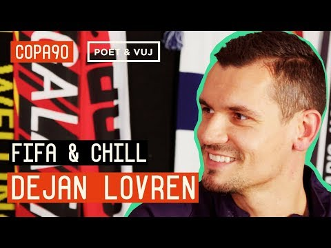 FIFA And Chill With The Best Defender In The World | Dejan Lovren