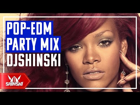 Best of POP, EDM Party Workout Mix Dj Shinski [Rihanna, Chris Brown, Pitbull, Calvin Harris, Avicii]