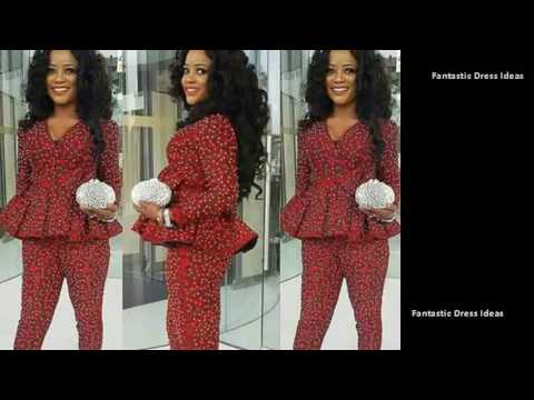 Latest African Trendy Styles- African Ankara,Aso,EBi styles for nice ladies