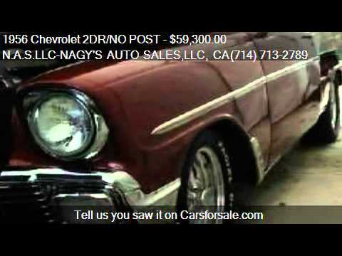 1956 Chevrolet 2DR/NO POST 210 COUP for sale in COSTA MESA,
