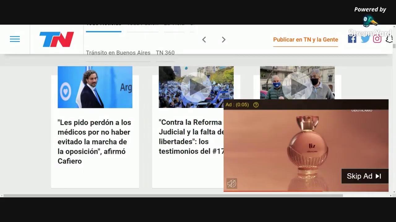 Urfgente - Milhares de Argentinos vão às ruas contra a venezuelização