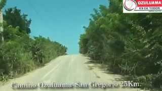 CAMINO OZULUAMA SAN GREGORIO AGOSTO 2014