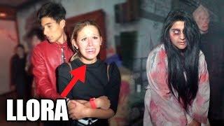 ENTRAMOS A UN MANICOMIO TERRORIFICO!! *termina llorando* thumbnail