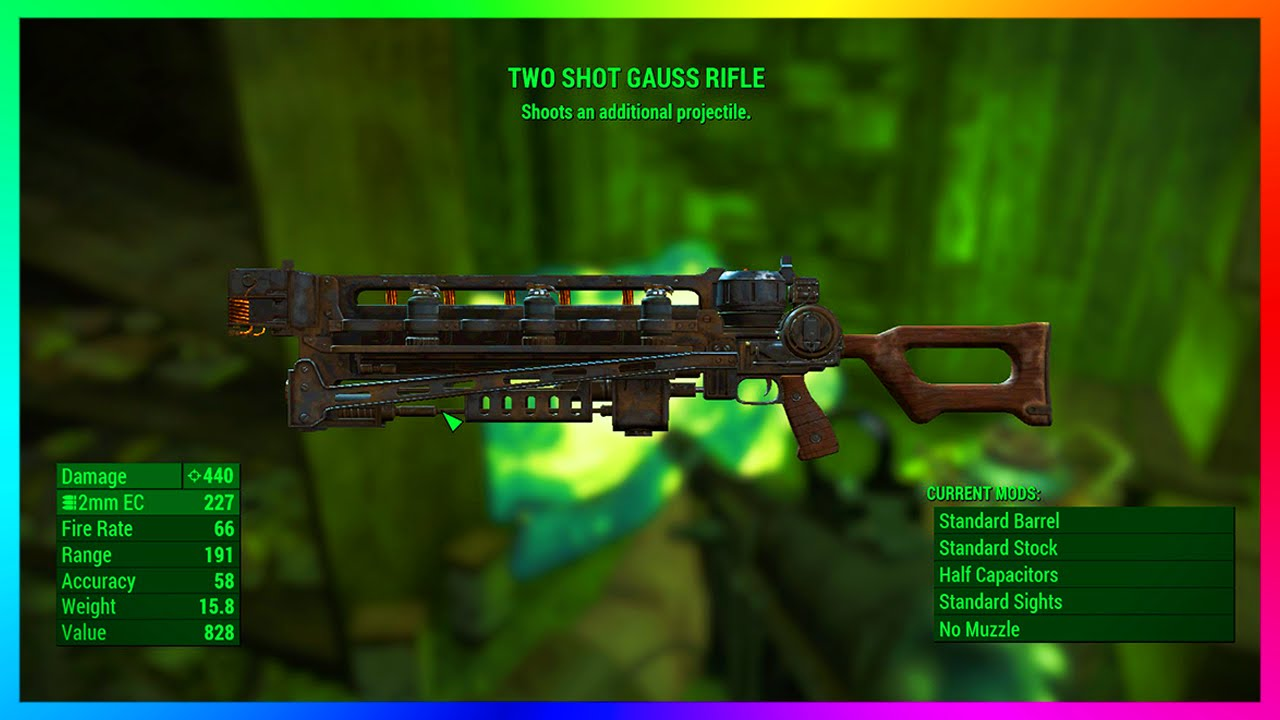 Fallout 4: Unlimited legendary items and rare powerful weapons