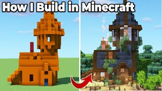 How To Build iฑ Minecraft 1.16 : Pro Building Tips and Tricks