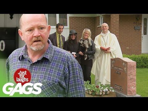 The Neighbour's Public Graveyard - Just For Laughs Gags