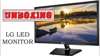UnBoxing amp Review LG 19M38 LED Moniter Tv Hindi Full Feature Explain