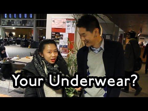 University of Waterloo - What Underwear Do You Wear? - Public Interviews