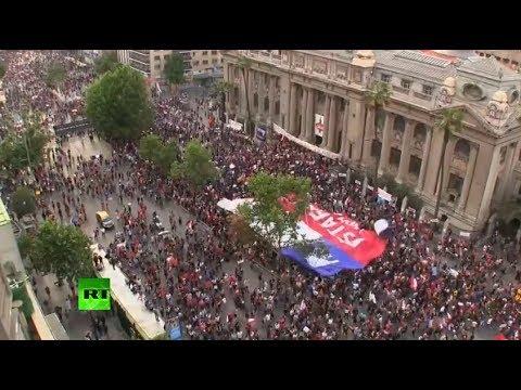 Inicia en Santiago la 'marcha más grande de Chile'