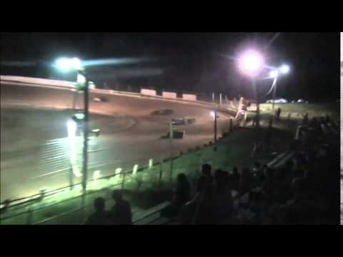 Steel Block Late Model Heat #1 from Jackson County Speedway 9/5/14.