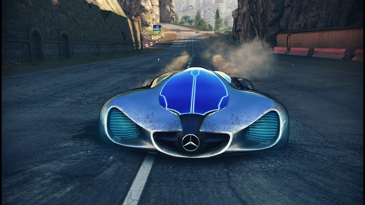 asphalt 8 mercedes benz biome cup great wall 118688 youtube