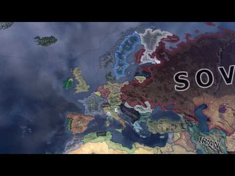 Extremely Fast HOI4 Timelapse Special