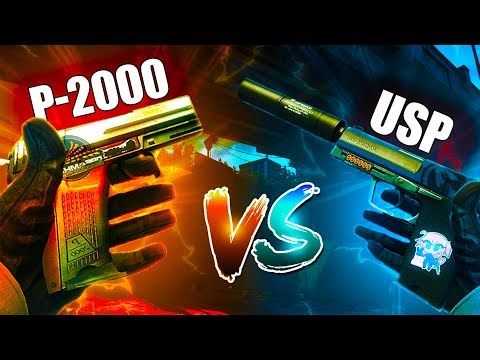 USP vs P2000 WHICH ONE?