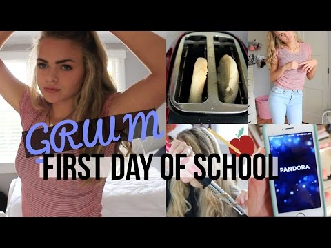 GET READY WITH ME: First Day of School!