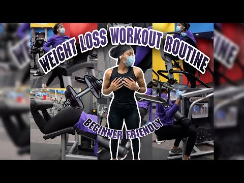Weight loss workout routine | What I did at the gym to help me lose 70+ pounds | BEGINNER FRIENDLY