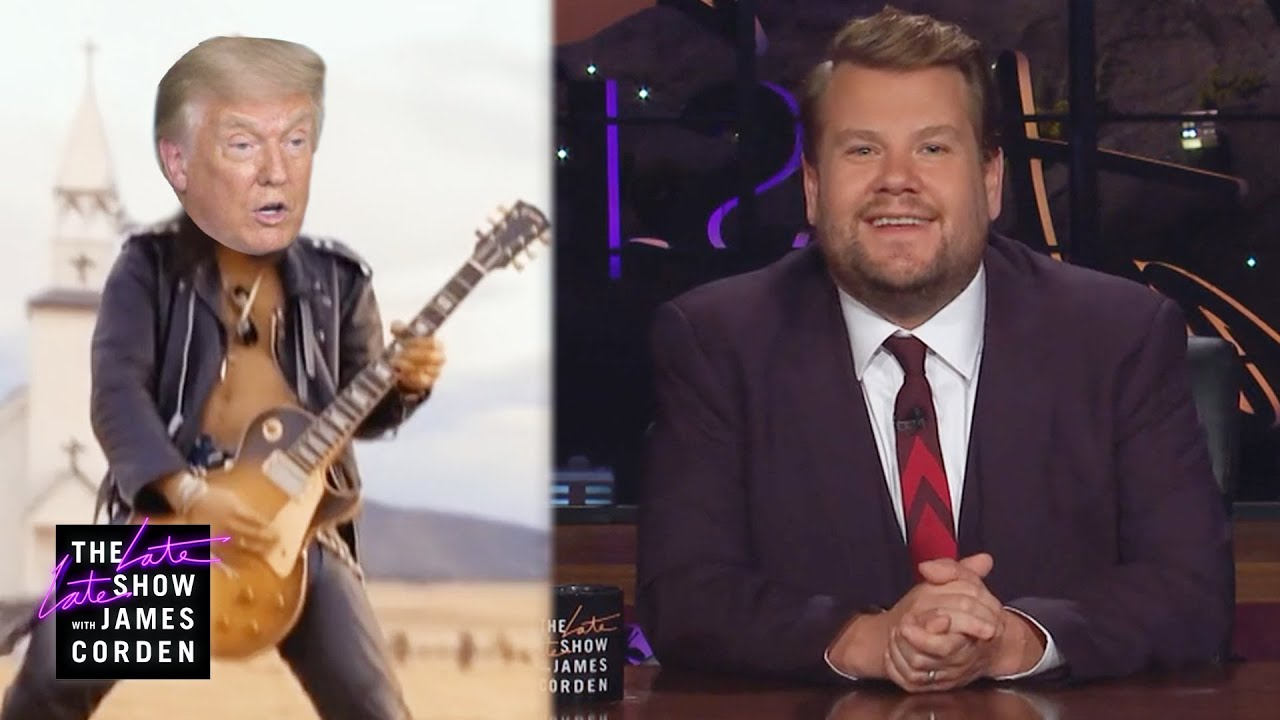 Trump Gets Pumped for September Debate with November Rain