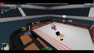 VCW-Raw (Ep1) Roblox