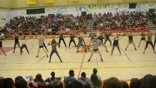 Taft Dance Team Peprally 2013