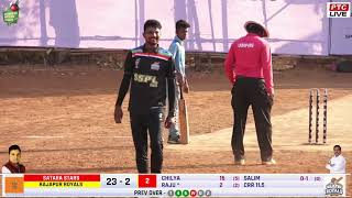 RAJAPUR ROYALS vs SATARA STARS at SSPL 2019 / SEAWOOD /  FINAL DAY