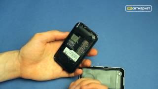 Видео обзор телефона Fly E141 TV от Сотмаркета