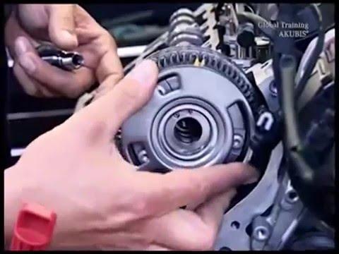 Замена цепи в моторах M272  M273 часть 2