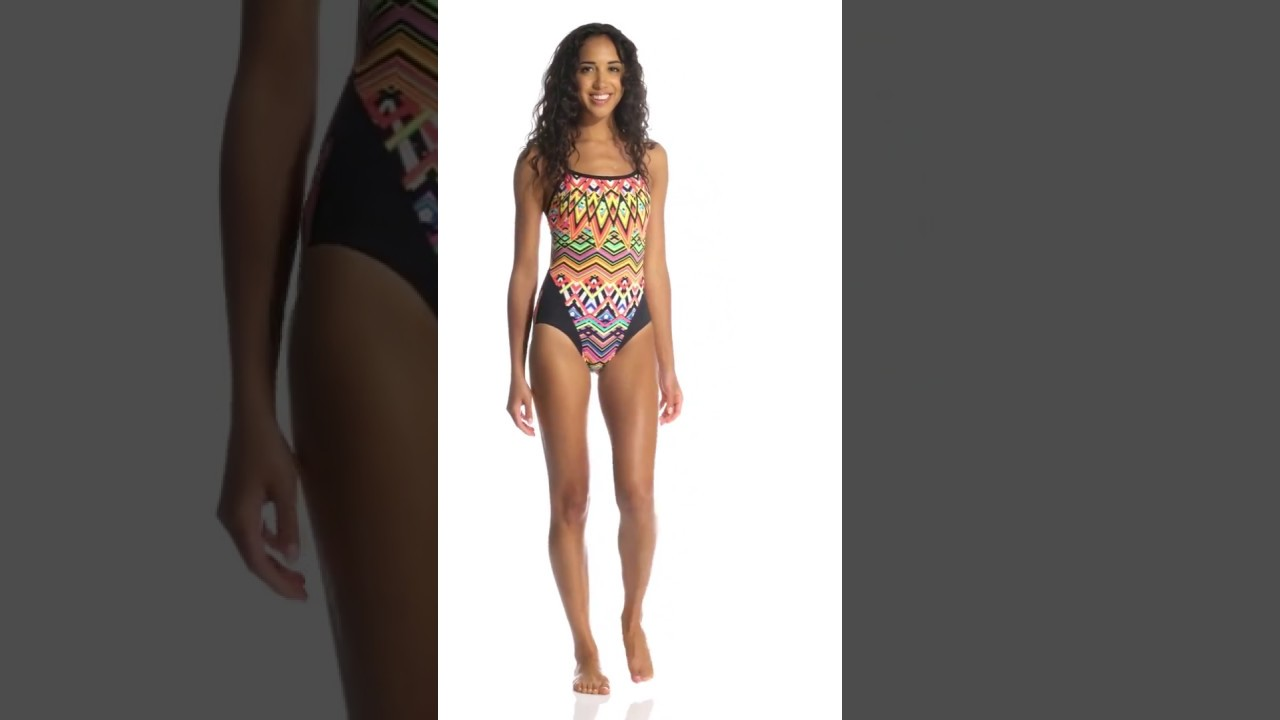 04dd99b17675a Funkita Womens' Go Safari Single Strap One Piece Swimsuit | SwimOutlet.com
