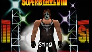 WCW/nWo Revenge - Sting - World Heavyweight (Hard)
