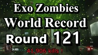 Exo Zombies World Record solo Round 121 outbreak suicide