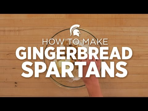 Happy Holidays: MSU celebrates with Gingerbread Spartans