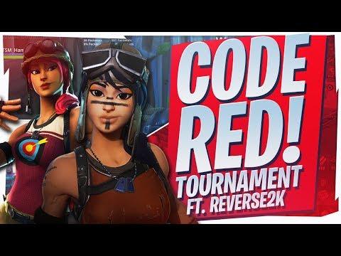 $20,000 CODE RED TOURNAMENT! INSANE 17 KILL WIN Ft Reverse2k Fortnite BR Full Game
