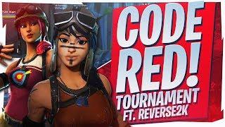 $20,000 CODE RED TOURNAMENT! INSANE 17 KILL WIN Ft. Reverse2k (Fortnite BR Full Game)