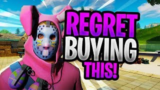 THESE SKINS I REGRET BUYING IN FORTNITE! (GIVING AWAY THESE SKINS)