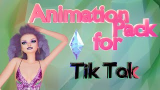 SIMS 4 ANIMATION PACK for TIK TOK| Golos