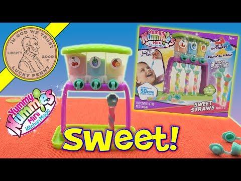Yummy Nummies Sweet Straws  Maker - Mini Kitchen Magic Kids Candy Set