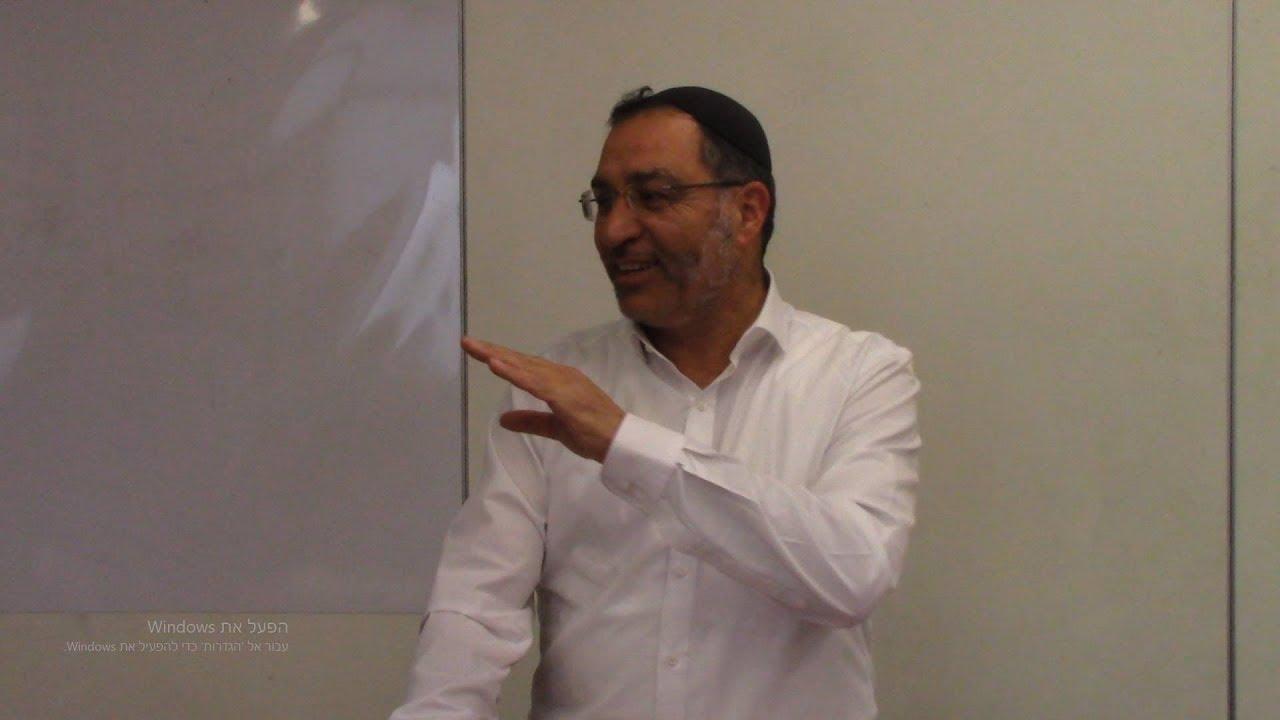 המשך הלכות נדרים ב' - צורבא מרבנן - הרב בן ציון אלגאזי