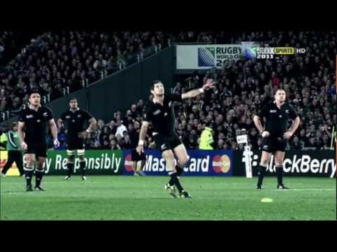 Stephen Donald remembers winning the Rugby World Cup