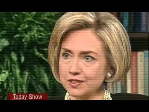 Bill Clinton Lies About Lewinsky