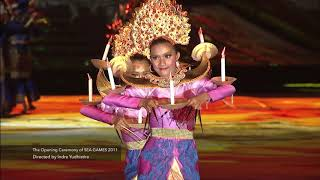 OPENING CEREMONY 2011 SEA GAMES PALEMBANG, INDONESIA (The Highlights)