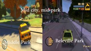 GTA 3 vs GTA IV - city comparison