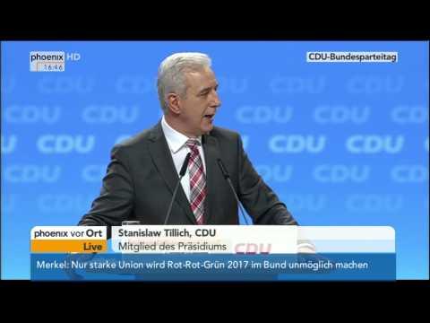 CDU-Parteitag: Reden der Kandidaten zum Parteipräsidium am 09.12.2014