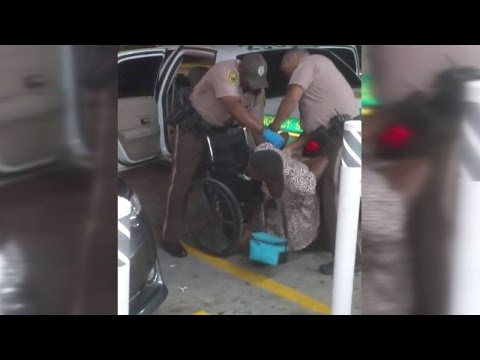 Video Shows Police Officers Drop Homeless Amputee On The Ground During Arrest