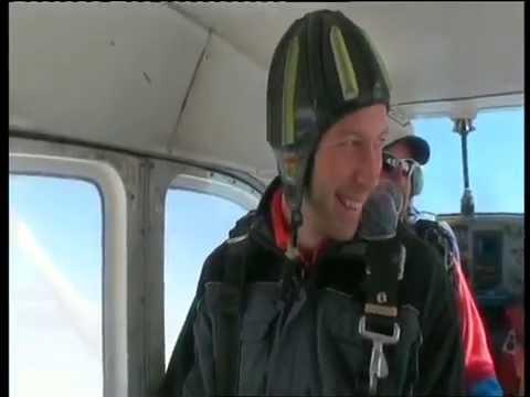 Skydiving at Østre Æra, Norway